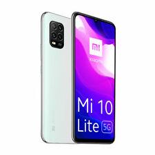 """Xiaomi Mi 10 Lite Dual Sim 5G 128GB+6GB RAM 6.57"""" Smartphone Dream White"""