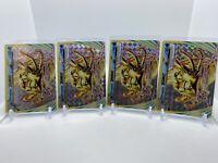 4X Pokemon Ultra Rare Omastar BREAK Card 19/124 XY Fates Collide Holo Foil
