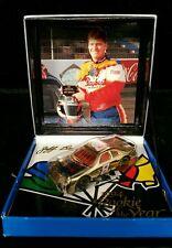 1:64 WHITE ROSE MATCHBOX SUPER STARS 1994 ROOKIE OF THE YEAR #8 JEFF BURTON GOLD