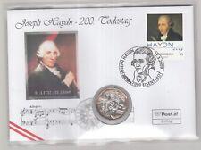 """2009 toller Numisbrief Österreich """" 200 Todestag von Joseph Haydn"""""""