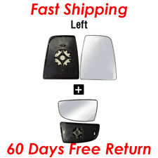 for 2014 2018 Ford Transit 150 250 Mirror Glass Upper (Heated) & Lower LH Driver