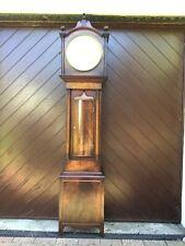 More details for 19th c  mahogany scottish longcase grandfather clock