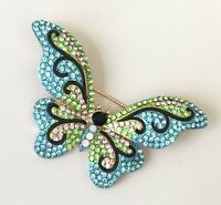 Vintage Butterfly Brooch Pin