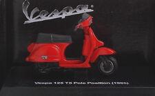 NEW RAY 1:32 MOTO DIE CAST VESPA 125 T5 POLE POSITION 1985 ROSSO ART 06043