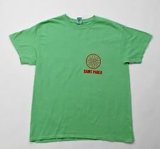 Kanye West Yeezy Saint Pablo Tour NY Green s/s t shirt Large L