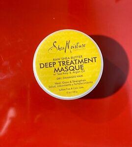 Shea Moisture Raw Shea Butter Deep Treatment Masque W/ Sea Kelp & Argan Oil