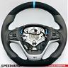 Volant Aplati Alcantara Smg BMW F25 X3 F26 X4 Blau-Ring Echange standard