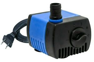 66 GPH Submersible Water Pump Aquarium Fish Tank Powerhead Fountain Hydroponic