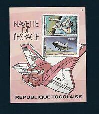 Togo bloc   navette de l' espace     de 1977   num:  110  **