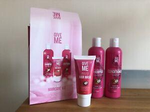 Give Me Hair Argan & Coconut Oil Shampoo Conditioner & Hair Mask Hair Kit  NEW