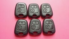 GENUINE PEUGEOT/CITROEN VALEO 2 BUTTON REMOTE KEY FOB TOP CASE - SOME USED WEAR