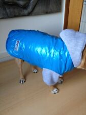 SMALL HOODED WATERPROOF BLUE SPORTS JACKET FOR SMALL DOG