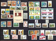 Brazil - 1978 - Complete Year-50 Commem. Stamps-MNH-1 Souvenir Sheets SC#1451/56