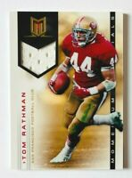 2012 Panini Momentum Tom Rathman Jersey Card, Materials SP #/175, 49ers Legend!