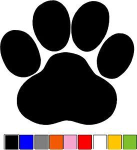 Paw Print Animal Dog Cat Vinyl Die Cut Car Decal Sticker-FREE SHIPPING