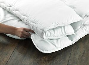 D&P CO MATTRESS TOPPER 500GSM Soft & Comfortable SOFT MICROFIBRE FABRIC UK Made