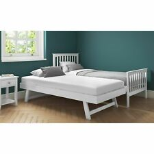 Oxford OXF009W Single Guest Trundle Bed - Pure White