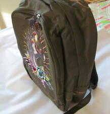 NWT Ed Hardy by Christian Audigier Josh Panther Backpack Khaki