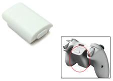 XBOX 360 Manette sans-fil AA Lot de batteries Coque Arrière Support (Blanc)