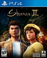 Shenmue 3 - Sony PlayStation 4  [PS4 Yu Suzuki Martial Arts Adventure] NEW