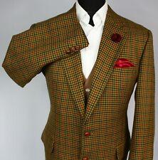 Burberry Tweed Blazer Jacket Brown Designer 40R AMAZING QUALITY 2747