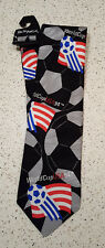 WORLD CUP USA 1994 Official Commemorative Vintage silk tie Ralph Marlin