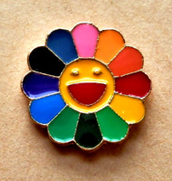 NHS Rainbow Thank You Sunflower Lapel Pin Badge NATIONAL HEALTH SERVICE