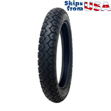 Sport Cruiser Motorcycle M/C Tire 4.00-19 Tube Type Front/Rear