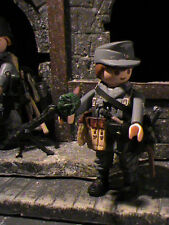 PLAYMOBIL CUSTOM SUBOFICIAL WEHRMACHT  (FRANCE-1944) REF-0472 BIS