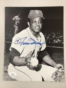 Willie Mays Signed Photo 8x10 Autograph New York Mets Giants Baseball HOF JSA