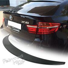 Stock in LA For BMW X6 E71 P TYPE REAR TRUNK SPOILER REAL CARBON FIBER