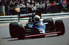Martin Brundle Tyrell 012 French Grand Prix 1984 Photograph 1
