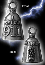 WARNING I DON'T DIAL 911 Guardian® Bell Motorcycle - Harley Accessory HD Greml