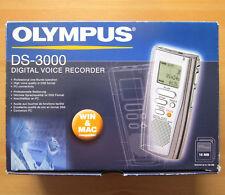 Olympus ds-3000 digital Voice Recorder digital grabadora DSS formato en OVP