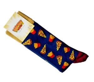 Ladies Novelty Socks Pizza & Fries
