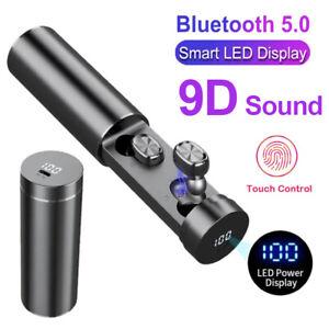 Bluetooth 5.0 Kopfhörer In Ear Ohrhörer Headset LED Ladebox für Samsung iPhone