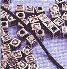 Alphabet Bright Silvertone Big Value (85 pieces)