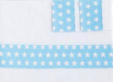Sabanas de mini cuna, maxicuna dibujo de estrellas franela algodon Bebé twinkle