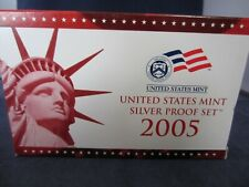2005-S SILVER Proof Set  EMPTY BOX & COA ONLY - 1 ONE BOX