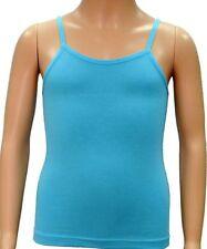 Vêtements bleus à bretelles pour fille de 2 à 16 ans