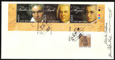 Cyprus Stamps SG 1238-40 2011 Famous Composers of 18th Century FDC (d795)
