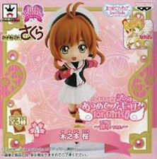Card Captor Sakura Rollerblading Sakura Atsumete for Girls Vol. 4 Trading Figure