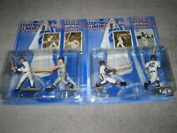 2 - 97 Starting Lineup Classic Doubles Mantle / Maris - Aaron / Robinson New