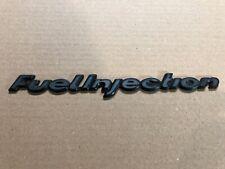 Vw Audi Fuel Injection Hatch Trunk Emblem Badge Rabbit Scirocco Dasher 4000 5000