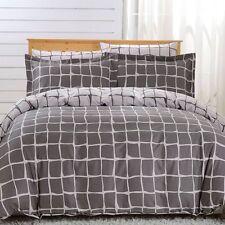 DM606Q - Queen Duvet Cover Set - 6 Piece 100% Soft Combed Cotton by Dolce Mela