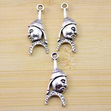 charms Pendants accessories 28x11 mm 15 pcs Retro style Zinc alloy