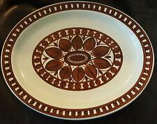 Midwinter Stonehenge Dahlia Platter - 30cm by  24.5cm