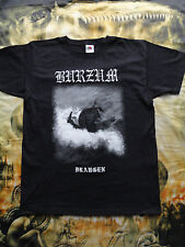 "1BURZUM ""DRAUGEN"" MAYHEM DARKTHRONE MARDUK BATUSHKA T-SHIRT ORIGINAL OFFICIAL"