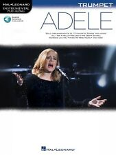 Adele Trumpet Instrumental Play-Along Book and Audio New 000159655