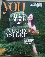You Magazine 26 August 2012,UK, Kate Moss, Rachael Stirling, Liz Jones